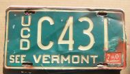 1970 VERMONT USED CAR DEALER