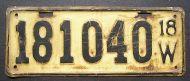 1918 WISCONSIN