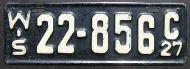 WISCONSIN 1927