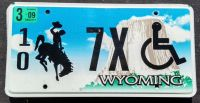 2009 WYOMING DISABLED
