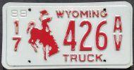 WYOMING 1988 TRUCK