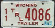 WYOMING 1989 TRAILER